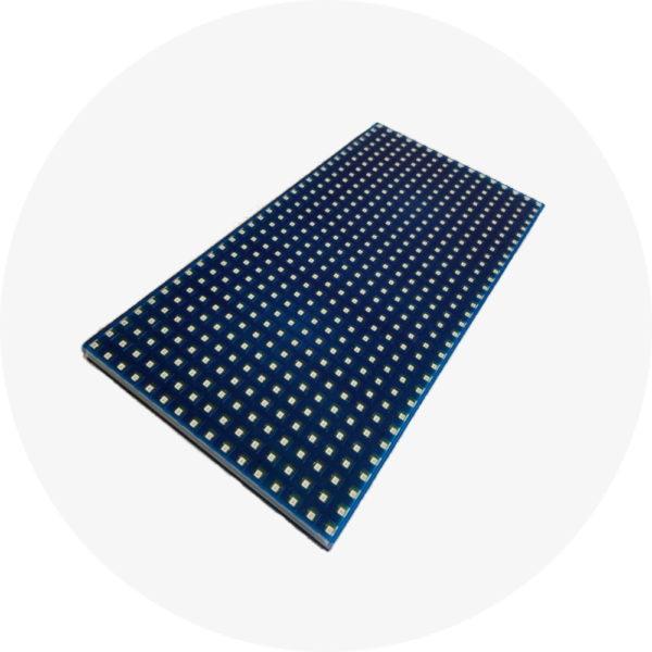 Синий монохромный светодиодный модуль